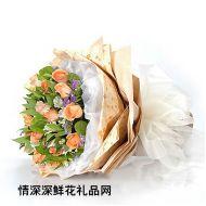 七夕节鲜花,梦幻