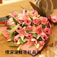 祝福鲜花,温暖人心