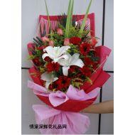 祝福鲜花,对您的祝福