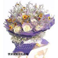 武汉鲜花,今世情缘